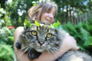 Beautiful Portraits Of Kids And Their Cats [GALLERY]