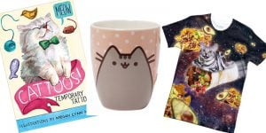 A Not So Sensible Guide To Cat-Themed Presents And Gifts