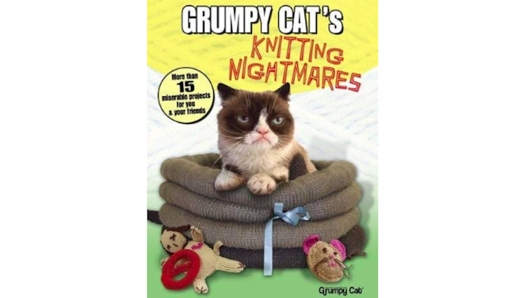 Grumpy Cat knitting book
